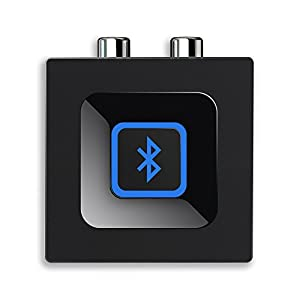 Bluetooth Audio Adapter for Music Streaming Sound System, Esinkin Wireless Audio Adapter Works with Smartphones and…