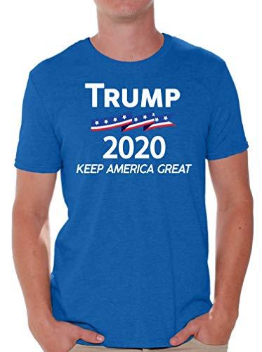 Awkward Styles Trump 2020 Shirt Donald Trump T Shirt Men Trump Republican Gifts (Small, Trump Keep America Great)