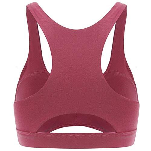 La mode Femmes Sexy Gym Yoga Sport Soutien-gorge Tops Séchage Rapide Cross Front Fitness Fitness Stretch Débardeur Jogging Running Exercice Élastique Gilet D'entraînement