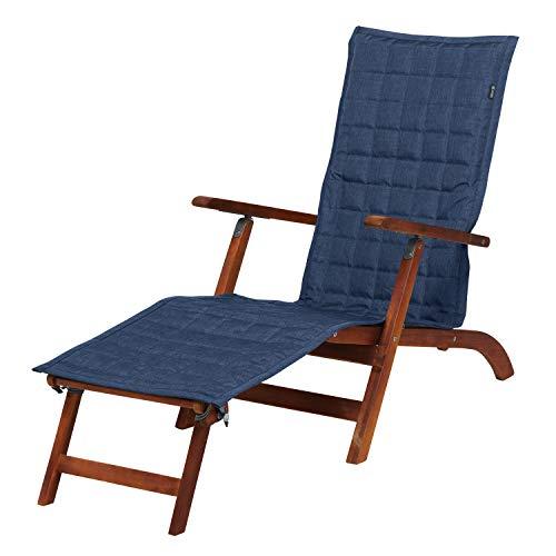 Classic Accessories Montlake FadeSafe Housse pour Chaise Vapeur Indigo chiné 69 x 48 cm