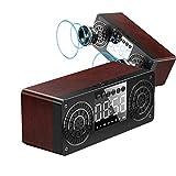 DGHJK Radio Digital Clock, tragbarer drahtloser Bluetooth-Lautsprecher mit...