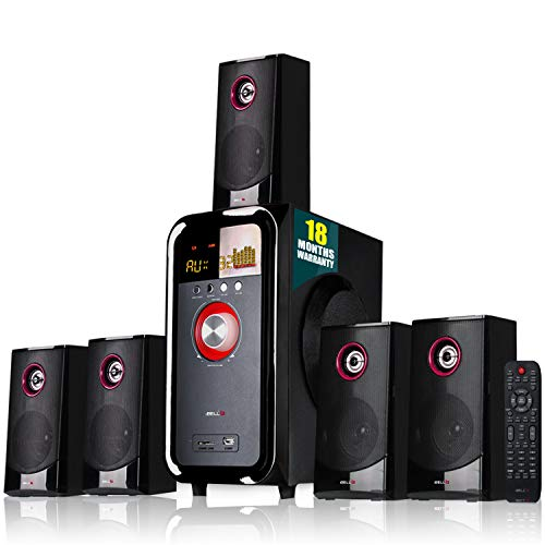 iBELL IBL2079DLX 5.1 Home Theater Speaker Multimedia with FM Stereo, Bluetooth, USB/SD/MMC/AUX Function
