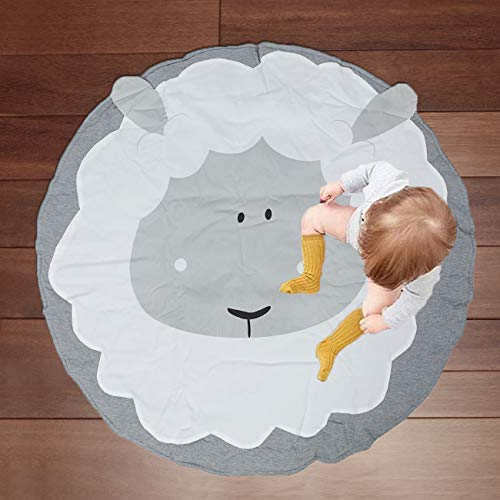Kids Play Mat Round Baby Nursery Rugs, Dyna-Living Portable Crawling Mat Crawl Cushion Air-Conditioned Rug for Kids Children Toddlers Bedroom – Sleep Design