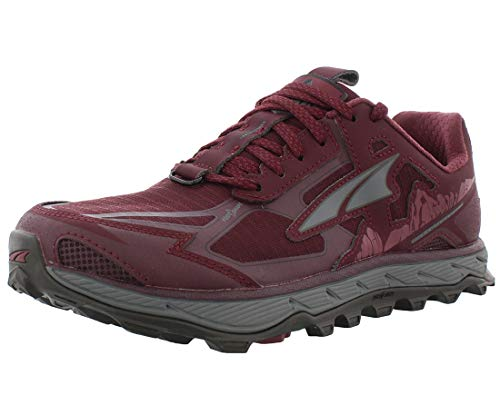 ALTRA Women's AL0A4QTX Lone Peak 4.5 Trail Running Shoe, Dark Port - 10 M US