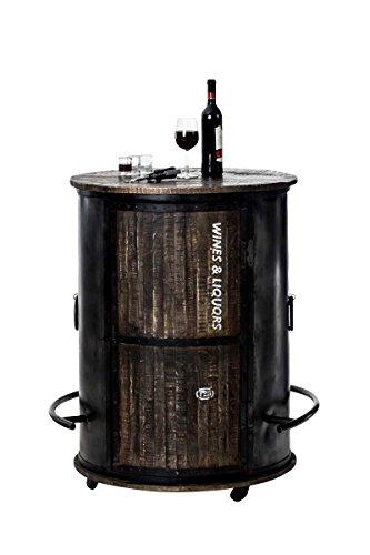 CLP Weinschrank Chicago aus Holz I Barwagen