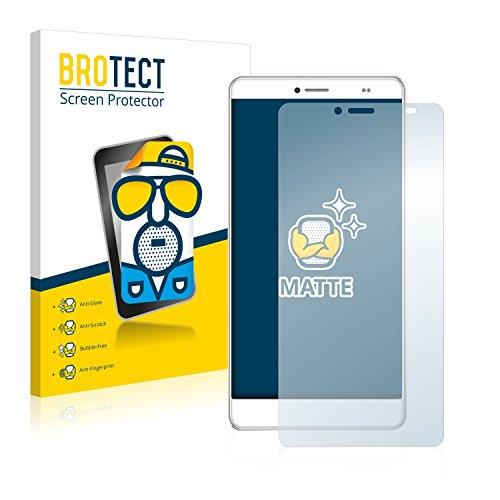 BROTECT 2X Entspiegelungs-Schutzfolie kompatibel mit Bluboo Maya Max Bildschirmschutz-Folie Matt, Anti-Reflex, Anti-Fingerprint