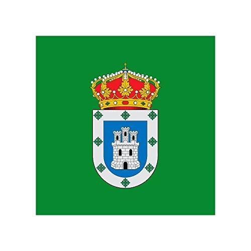 magFlags Bandera Large Municipio de Villasbuenas de Gata; en Cáceres   1.35m²   120x120cm