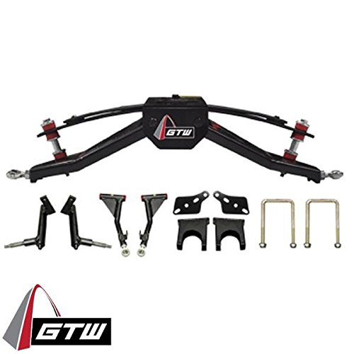 Club Car DS 6' Double A-Arm Golf Cart Lift Kit (Fits 2003-15 models with Plastic Dust Covers)
