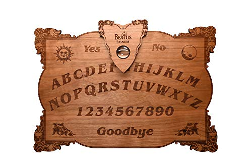 Beatus Lignum Celtic Ouija Board Real Cherry Wood 15 x 10.5 x 1/4 Thick - Customizable
