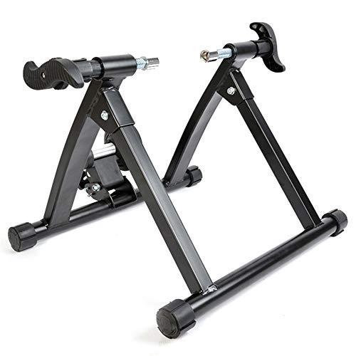 Rodillo Entrenamiento Bicicleta Bicicleta Magnetic Mountain Road Plataforma de Entrenamiento Turbo Trainer, Indoor Bike Trainer para Bicicletas de Carretera y montaña para Bicicleta de Interior