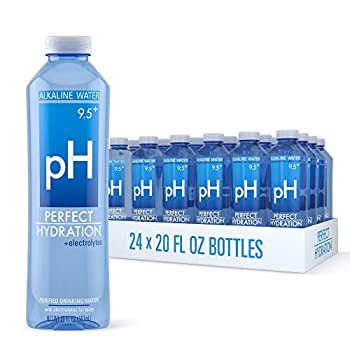 Perfect Hydration 9.5+ pH Electrolyte Enhanced Drinking Water 20 Ounces 24 Bottles