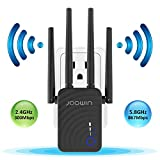 WiFi Extender 1200Mbps 5G & 2.4G WiFi Range Extender Dual Band Repeater Wireless
