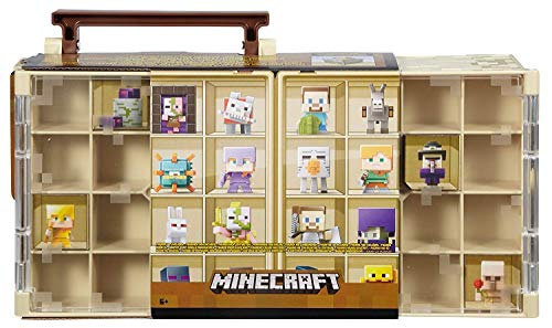 Product Image of the Minecraft Collector Case and Mini Figure