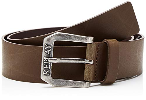 Replay Am2417.000.a3001 Ceinture, Marron (Dark Wood Brown 110), 115 (Taille fabricant: 100) Homme