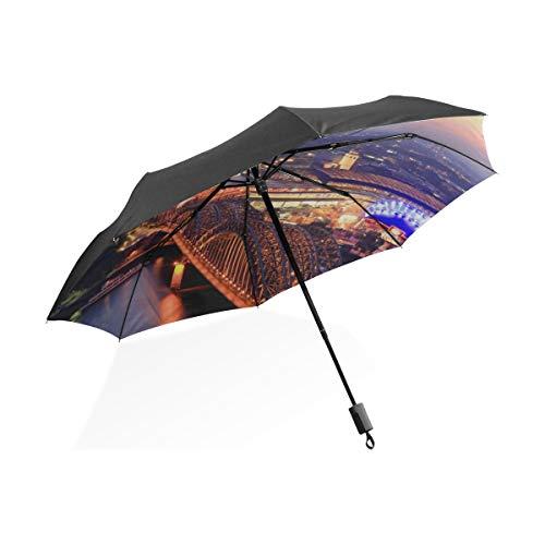Regenschirm Outdoor Wunderschöne Romantische Kölner Dom Tragbare Kompakte Taschenschirm Anti Uv Schutz Winddicht Outdoor Reise Frauen Junge Regenschirm