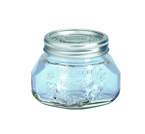 Leifheit 36105 Einkochglas 6 Stück, 0.5 Liter