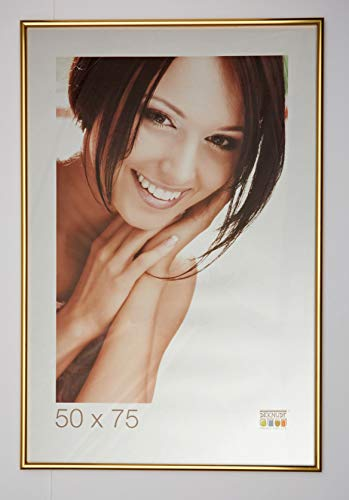 Deknudt Frames S011A4 50 x 75 Cornice d'oro Resina