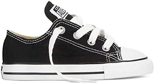Converse Chuck Taylor All Star Core Ox 015810-34-8, Unisex - Kinder Sneaker, Schwarz (Noir), EU 35