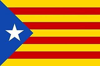 MC-TREND® Gran Bandera de Cataluna Estelada Blava 90x150cm - Catalana - Catalunya