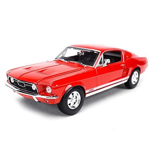 Diecast Model Car 1:18 para Mustang Coche Deportivo Simulación Estática De Fundición A Presión Colección De Coches Modelo De Juguete Regalo para Niños (Color : 2)