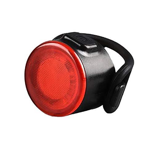 AMZSELLER Luz Trasera Bicicleta Bicicleta Luces traseras Mini Bicicleta Casco de Casco Casco Mochila Luces USB CARGABLE IPX6 Abarcela Impermeable Advertencia Ciclismo Luz de Ciclismo (Color : Red)