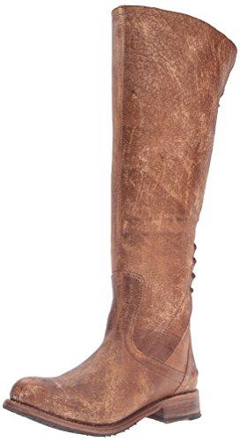 BED STU Women's Surrey Boot, Caramel Lux, 8 M US