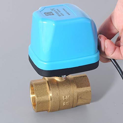 liqun Dn15 Dn20 Dn25 Dn32 Ac220V Válvula De Bola Eléctrica Válvula De...