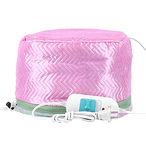 FAMKIT Electric Hair Steamer Cap Hair Nourishing Styling Thermal Treatment Hat 2 Temperature Adjustable