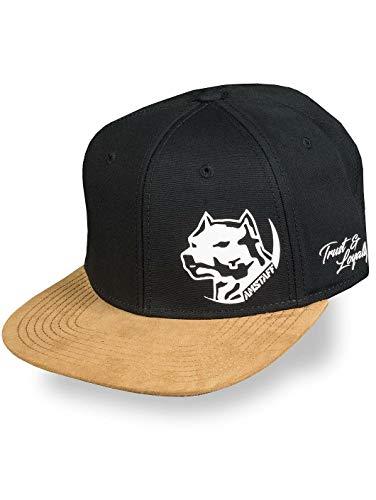 Amstaff Herren Snapback Caps Hendog schwarz Verstellbar