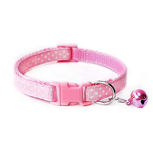 LCZMQRCLMZRQ Hondenhalsband Verstelbare gesp Hondenhalsband Nekband Accessoires voor dierbenodigdheden, wit