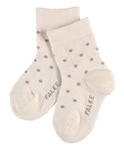 FALKE Baby Socken Little Dot - Baumwollmischung, 1 Paar, Weiß (Off-White 2040), Größe: 74-80