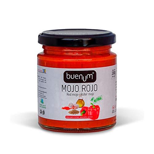 Rotes Mojo-Sauce mild BUENUM 200 gr.