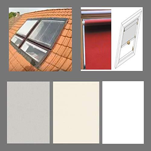 generisch Thermo-Abdunkelungs-Rollo für BRAAS Atelier_Dachfenster_BA/DA, Bauj. 1991-2000 (100/110)