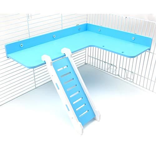 Alfie Pet - Kick Wood Ladder Platform for Mouse,...