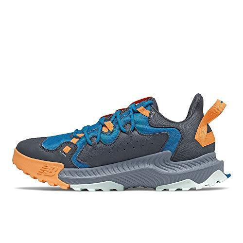 New Balance Zapatillas de correr Shando V1 para hombre, turquesa (Ola/Habanero/Espacio exterior), 46.5 EU