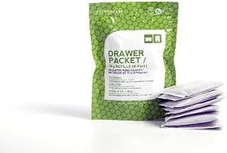 All Natural Drawer Packet Charcoal Bamboo Deodorizer + Dehumidifier