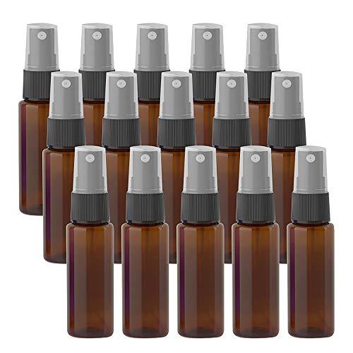 N/A 15 botellas de espray pequeñas de 20 ml vacías de pulverización para viajes, cosméticos, herramienta de maquillaje