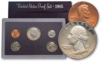 1985 S 1985 UNITED STATES PROOF SET Uncirculated