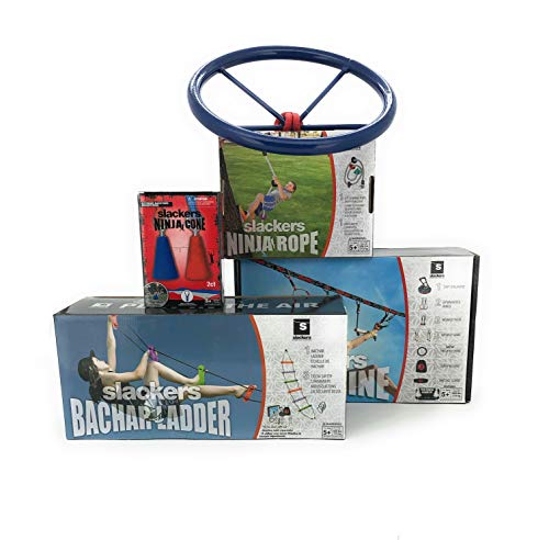 Cheapest Prices! Slackers NinjaLine Mega Bundle Intro Kit + Bonus Obstacles