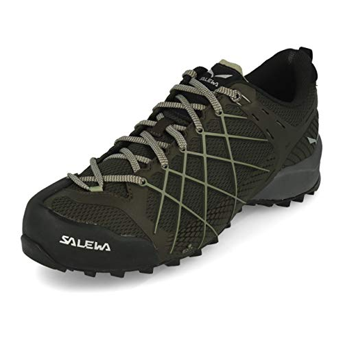 SALEWA Ms Wildfire, Zapatillas de trekking y senderismo para Hombre, sin Gore Tex ,Negro (Black Olive/Siberia 7625) ,42.5 EU