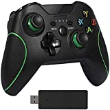 Wireless Controller for Xbox One, Upgraded Gamepad Compatible with Xbox One S, One X, One Elite, PS3, PC