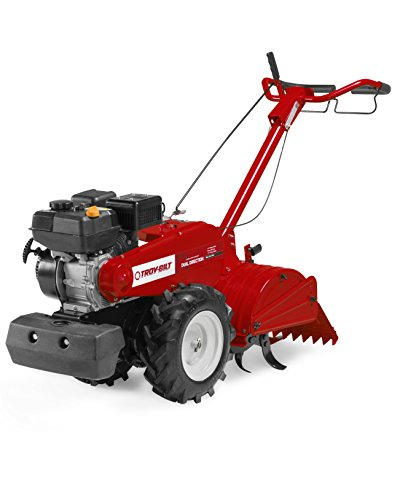 Buy Discount Troy-Bilt 450 Series 18-Inch Tiller and Cultivator with 208cc Powermore Engine and Debr...