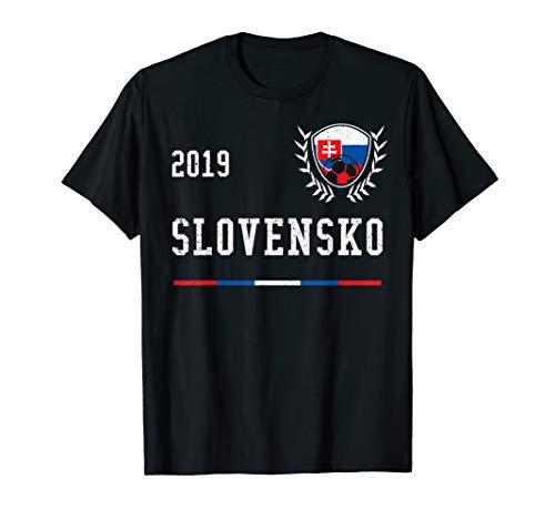 Slowakei Fußballtrikot 2019 Slowakisch Fußballtrikot T-Shirt