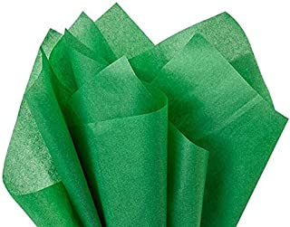 "Amscan 47286.28 Solid Green Tissue Paper, 20""x20"" 
