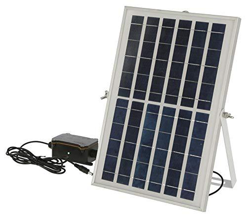 Kerbl 70556 Solar-Akku-Set für automatische Hühnertür ab Version 1.3, Solarmodul