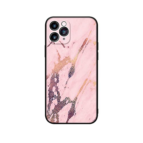 Carcasa de silicona para iPhone 11 12 Pro Max Mini Fashion Marble Shockproof Case 0007DLS-para iPhone 11Pro Max