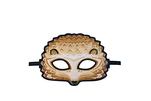 Dreamy Dress-Ups 71838 Animal Mask, Hedgehog, Maske Stoffmaske Tiermaske Igel Stacheltier