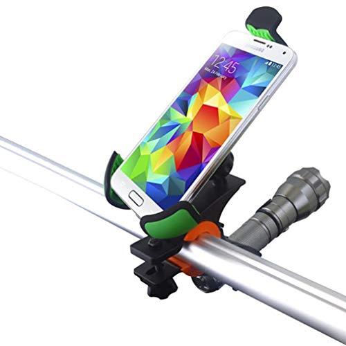 Heavy Duty Bicycle Mount Bike Handlebar Holder Cradle Compatible with Motorola One, Moto Z2 Play Z Play Droid X4 G6 Play G5 Plus (XT1687) G4 Play E5 Play E4 Plus, Maxx 2 - Nokia 8 Q3X
