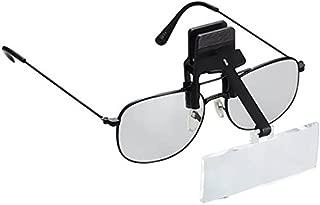 池田レンズ 双眼メガネルーペ クリップタイプ HF20B