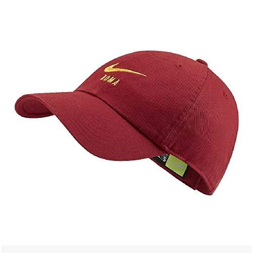 Nike Roma U Nk H86 Cap Hat/Visor, Herren Einheitsgröße Team-karmesinrot/Universität-Gold